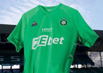 Camisetas le coq sportif del Saint-Étienne 2021/22