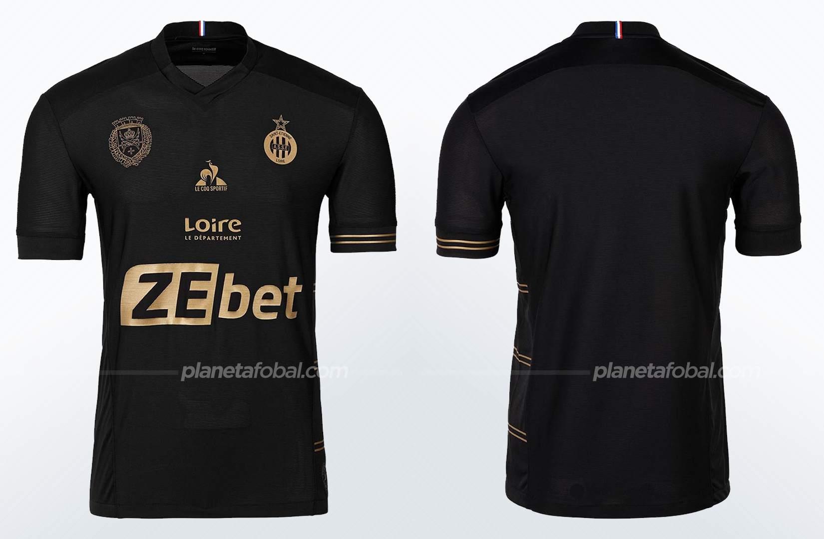 Tercera camiseta le coq sportif del Saint-Étienne 2021/22