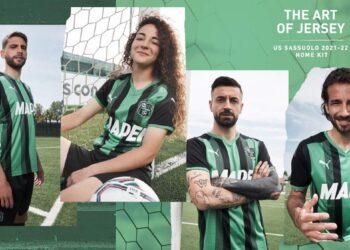 Camisetas Puma del Sassuolo 2021/22