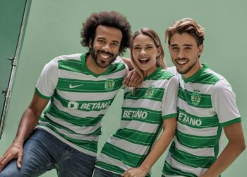 Camiseta Nike del Sporting CP 2021/22