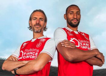 Camiseta Umbro del Stade de Reims 2021/22