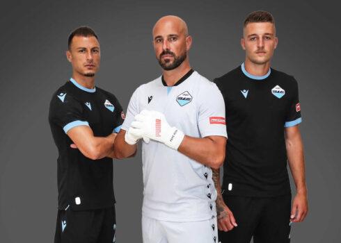 Tercera camiseta Macron de la Lazio 2021/2022
