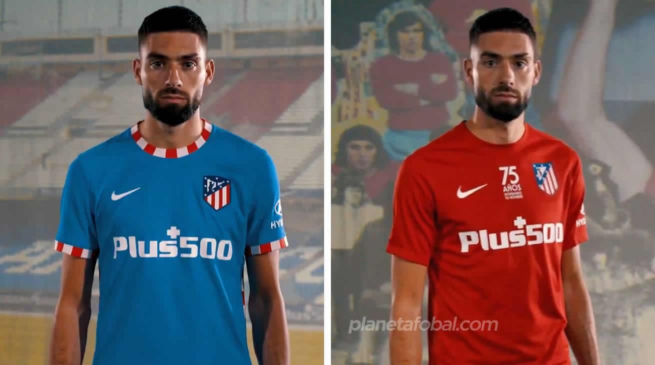 Tercera y cuarta equipación Nike del Atlético de Madrid 2021/22