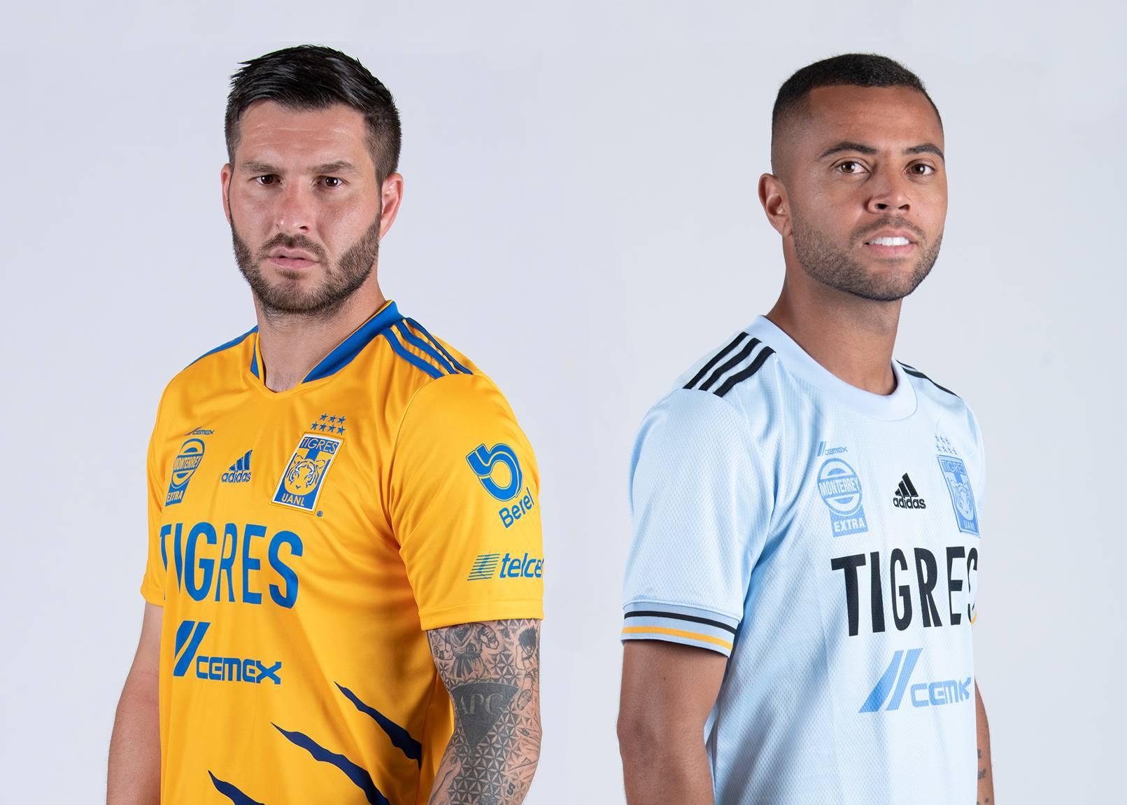 Camisetas adidas de los Tigres de la UANL 2021/22