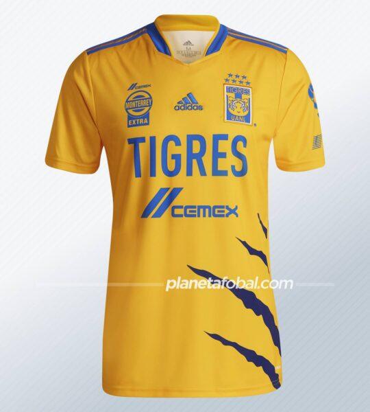Jersey local adidas de los Tigres de la UANL 2021/22