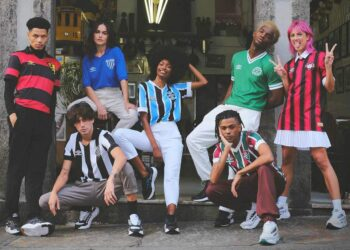 Umbro presenta colección retro para sus equipos de Brasil