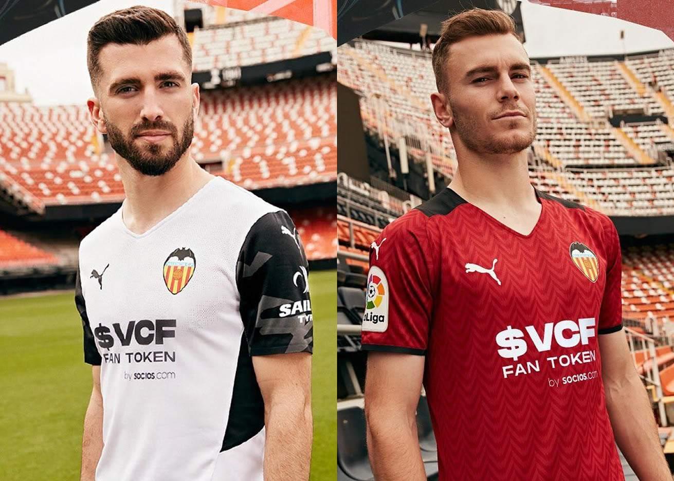 Camisetas Puma del Valencia 2021/22