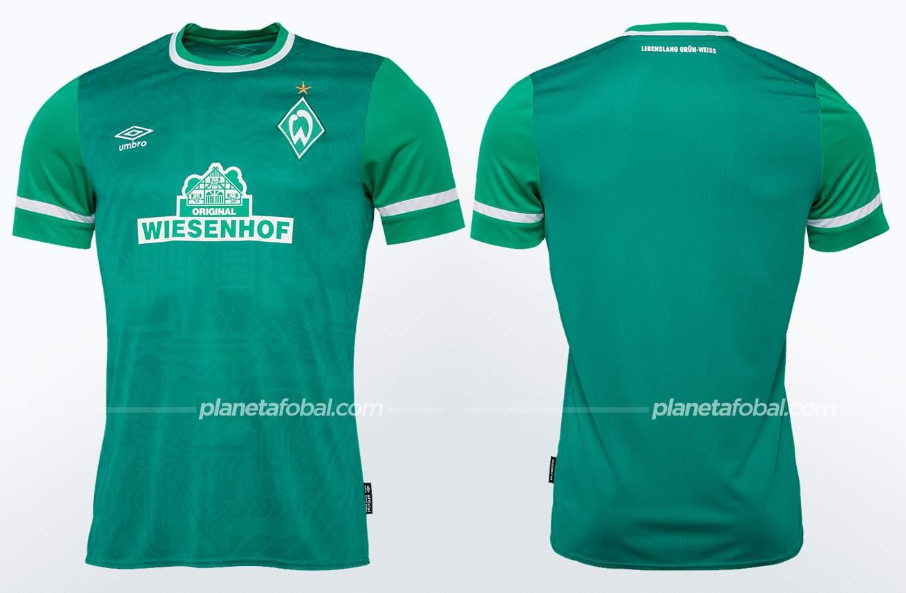 Camiseta local Umbro del Werder Bremen 2021/22
