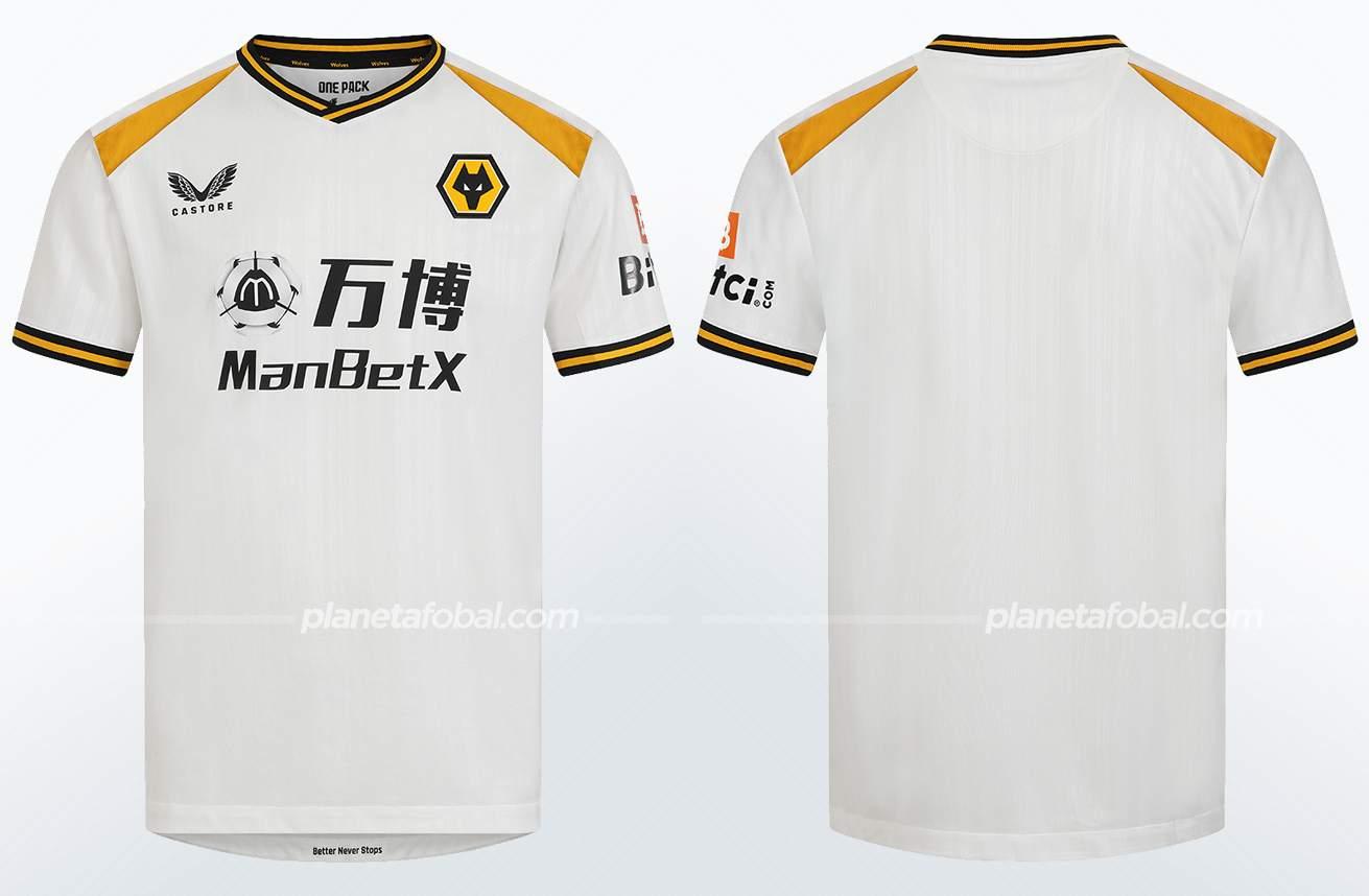 Tercera camiseta Castore del Wolverhampton 2021/22