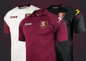 Camisetas Zeus de Salernitana 2021/22