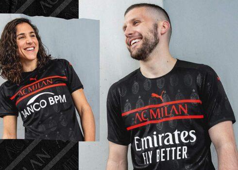 Tercera camiseta Puma del AC Milan 2021/2022