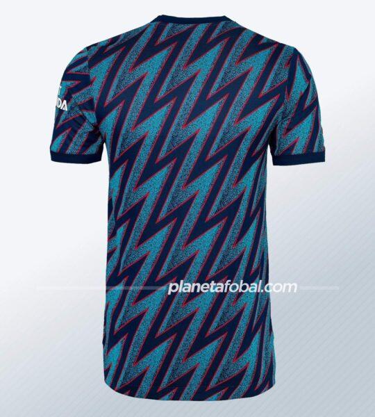 Tercera camiseta adidas del Arsenal 2021/2022