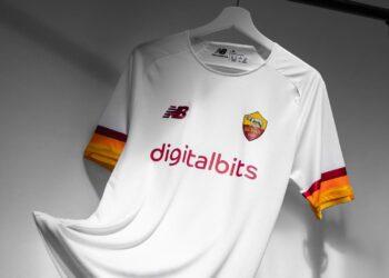 Camiseta suplente New Balance de la AS Roma 2021/2022