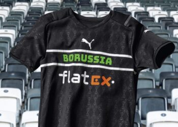 Tercera camiseta Puma del Borussia Mönchengladbach 2021/22