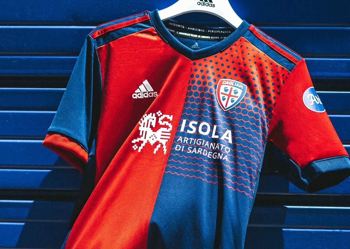 Camiseta adidas del Cagliari 2021/22