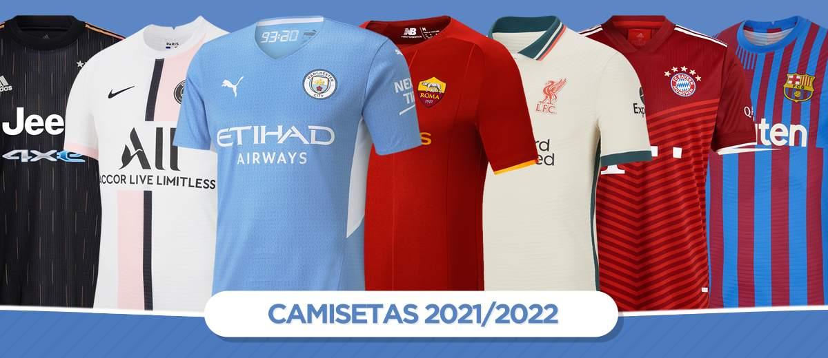 Camisetas de la Temporada 2021/22