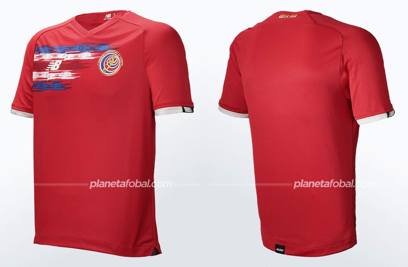 Camiseta local New Balance de Costa Rica 2021/2022