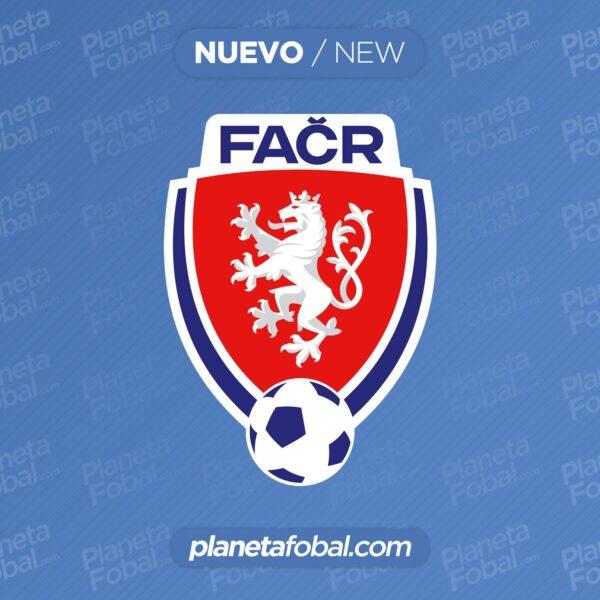 Nuevo logo de la Asociación de Fútbol de la República Checa (FAČR)
