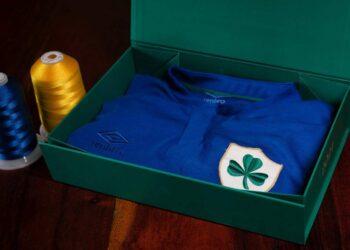 """Camiseta Umbro de Irlanda """"Centenario"""" 2021"""