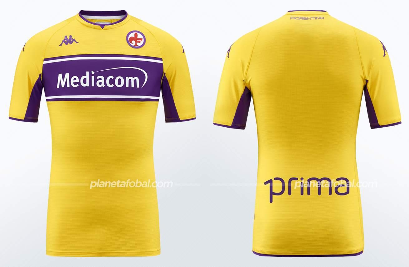 Camisetas Kappa de la Fiorentina 2021/22