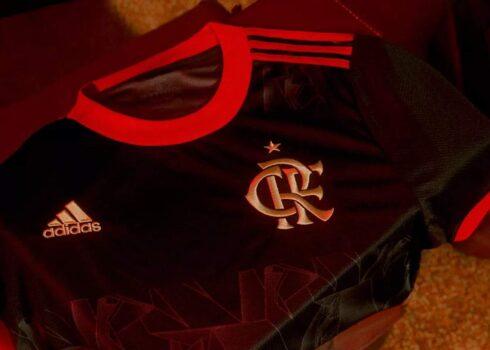 Tercera camiseta adidas del Flamengo 2021/22