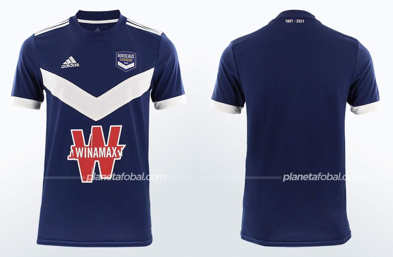 Camisetas adidas del Bordeaux 2021/22