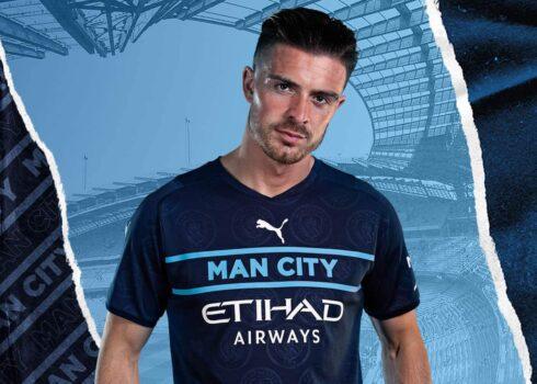 Tercera camiseta Puma del Manchester City 2021/2022