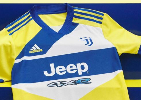 Tercera camiseta adidas de la Juventus 2021/2022