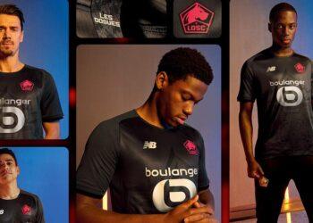 Tercera camiseta New Balance del LOSC Lille 2021/22