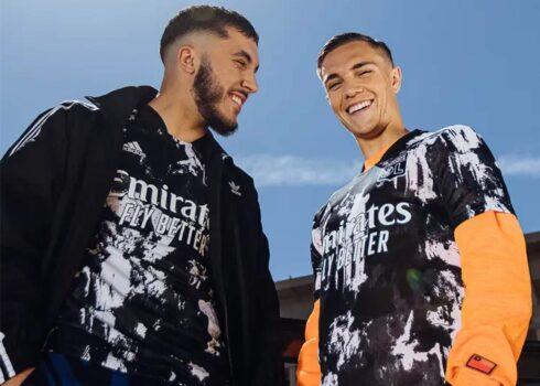 Tercera camiseta adidas del Lyon 2021/2022