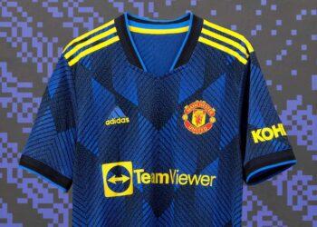 Tercera camiseta adidas del Manchester United 2021/2022