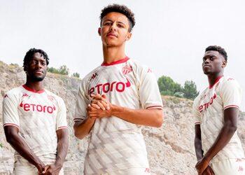 Tercera camiseta Kappa del AS Monaco 2021/2022