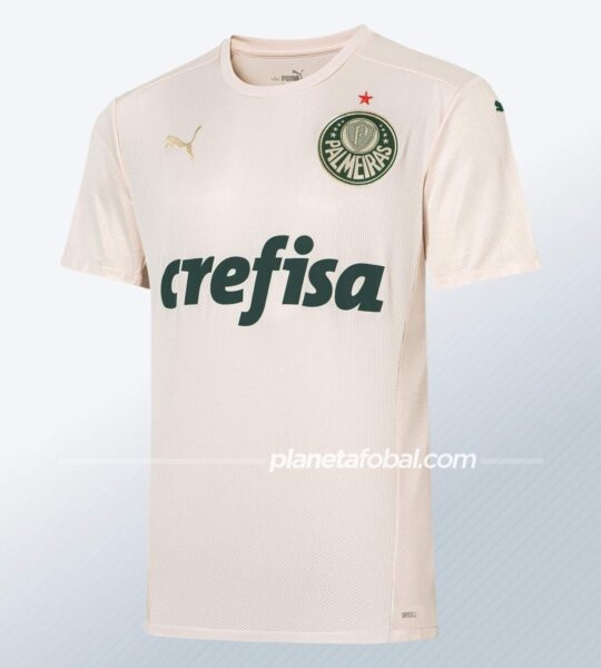 Tercera camiseta Puma del Palmeiras 2021/22