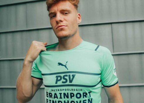Tercera camiseta Puma del PSV Eindhoven 2021/22