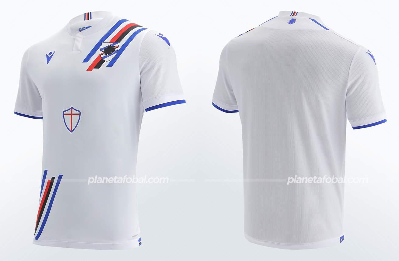 Camiseta suplente Macron de la Sampdoria 2021/22