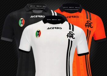 Camisetas Acerbis del Spezia Calcio 2021/22