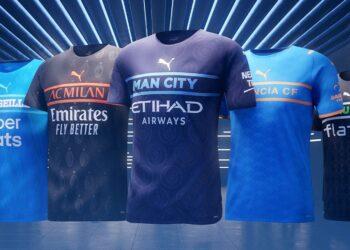 PUMA presenta las terceras camisetas 2021/22