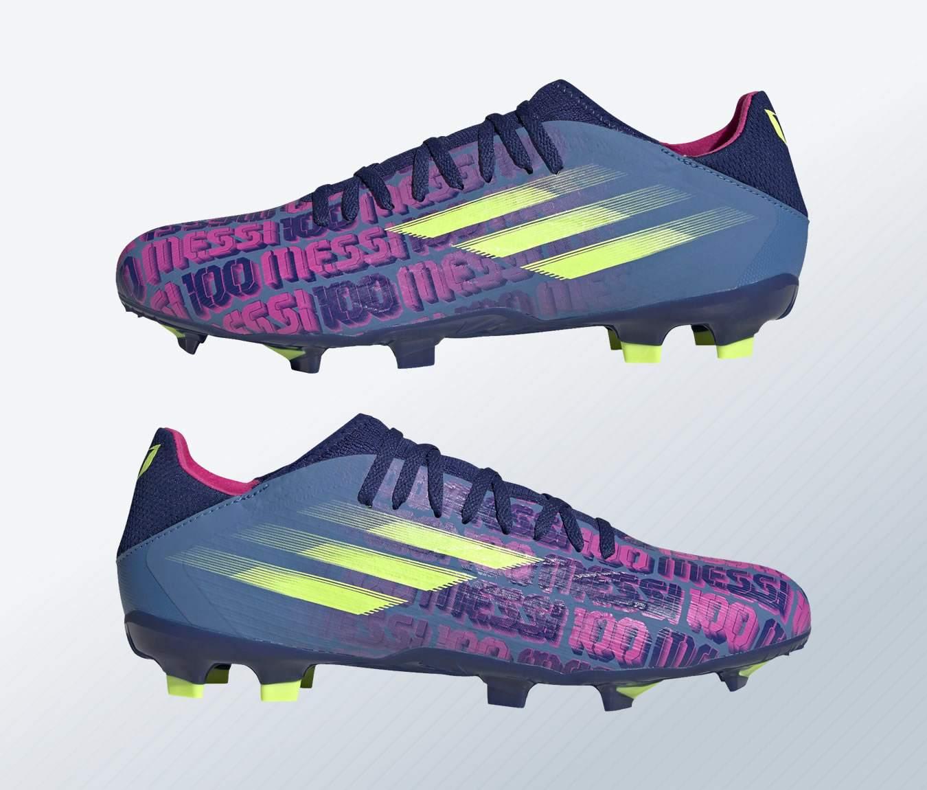 "Botines adidas de Lionel Messi X Speedflow ""Unparalleled"""