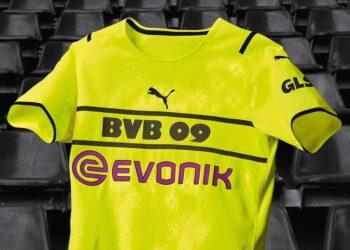 Camiseta Puma del Borussia Dortmund UEFA Champions League 2021/22