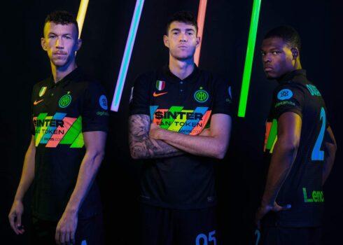 Tercera camiseta Nike del Inter 2021/2022