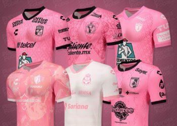 Camisetas Charly #OctubreRosa Liga MX 2021/22