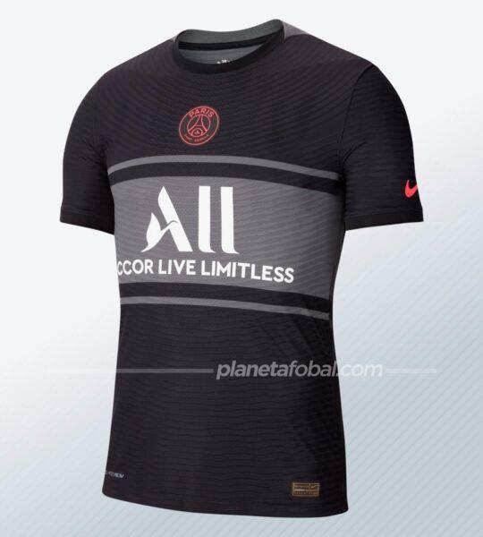 Tercera camiseta Nike del PSG 2021/2022