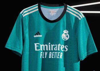Tercera camiseta adidas del Real Madrid 2021/2022