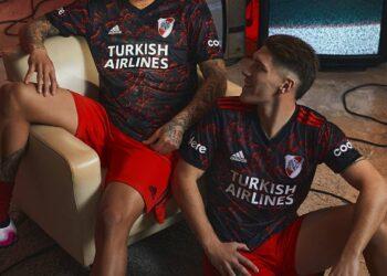 Camiseta suplente adidas de River 2021/2022