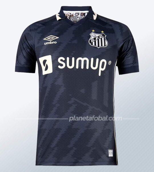 Tercera camiseta Umbro del Santos 2021/22