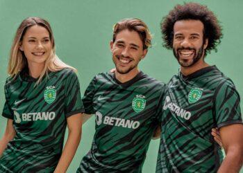 Tercera camiseta Nike del Sporting CP 2021/22