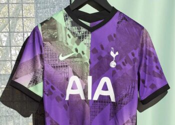 Tercera camiseta Nike del Tottenham 2021/2022