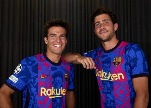 Tercera equipación Nike del Barcelona 2021/2022