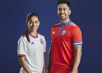 Camisetas adidas de Chile 2021/2022