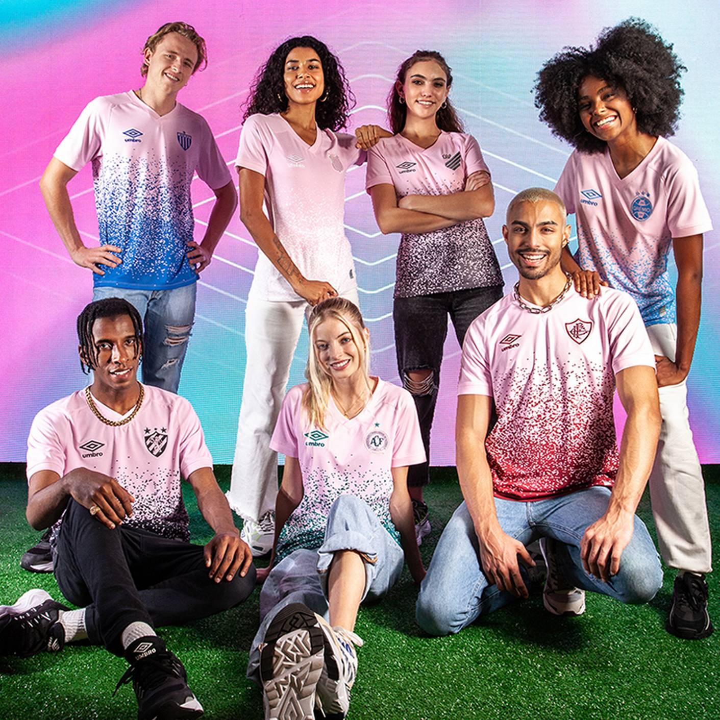 Camisetas Umbro Brasil #OctubreRosa 2021